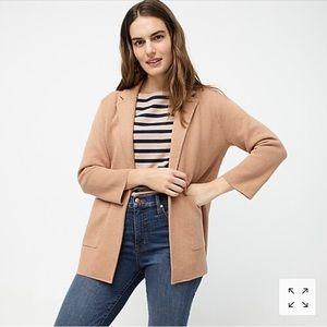 Sophie open front sweater blazer